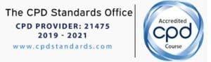 CPD Logo confirming accreditation